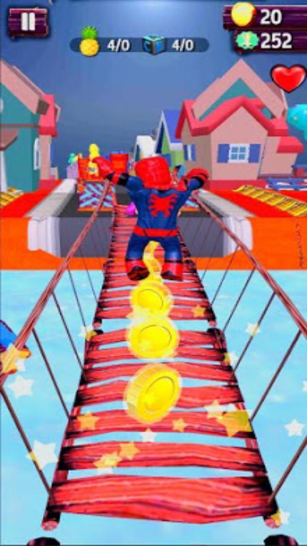 蜘蛛侠无限跑酷