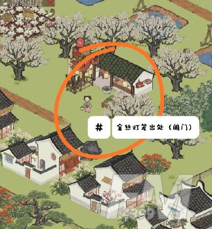 江南百景图阊门东南角在什么地方 阊门东南角详细位置一览[多图]图片5