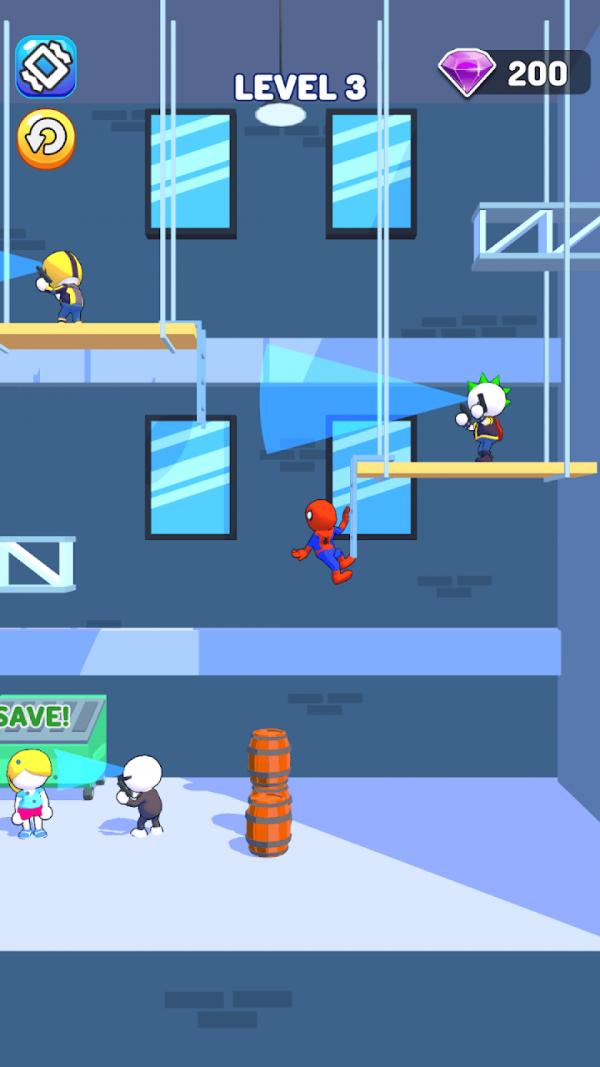 疯狂蜘蛛网截图