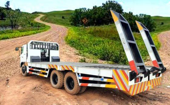 长拖车货车模拟截图