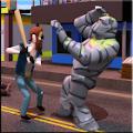 街头流氓和对手