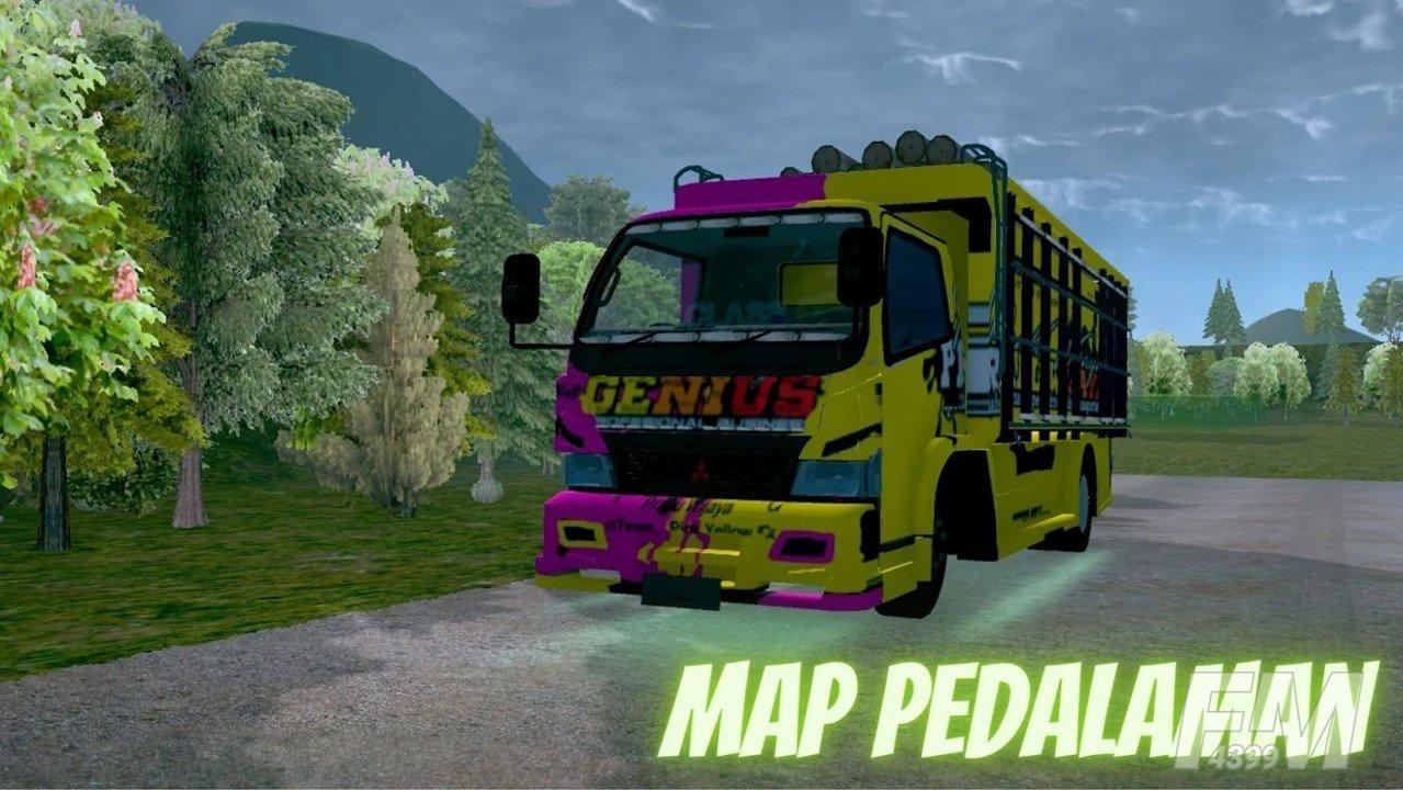 印尼卡车奥兰模拟器