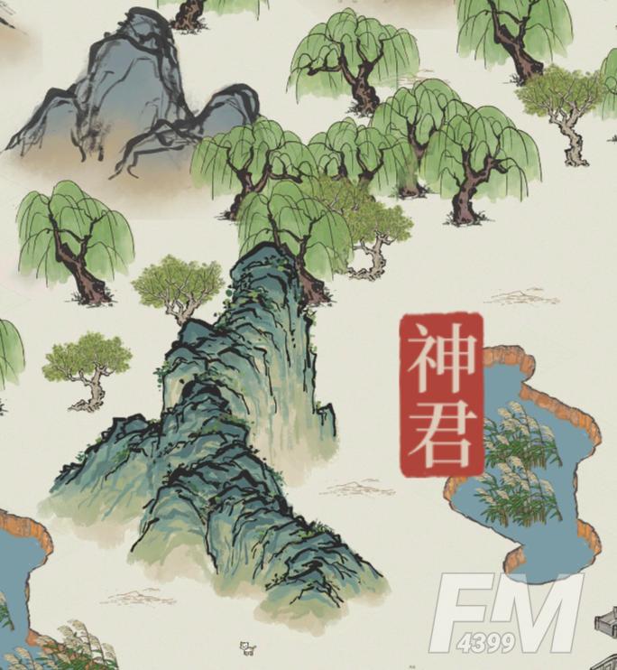 《江南百景图》群山布局图攻略