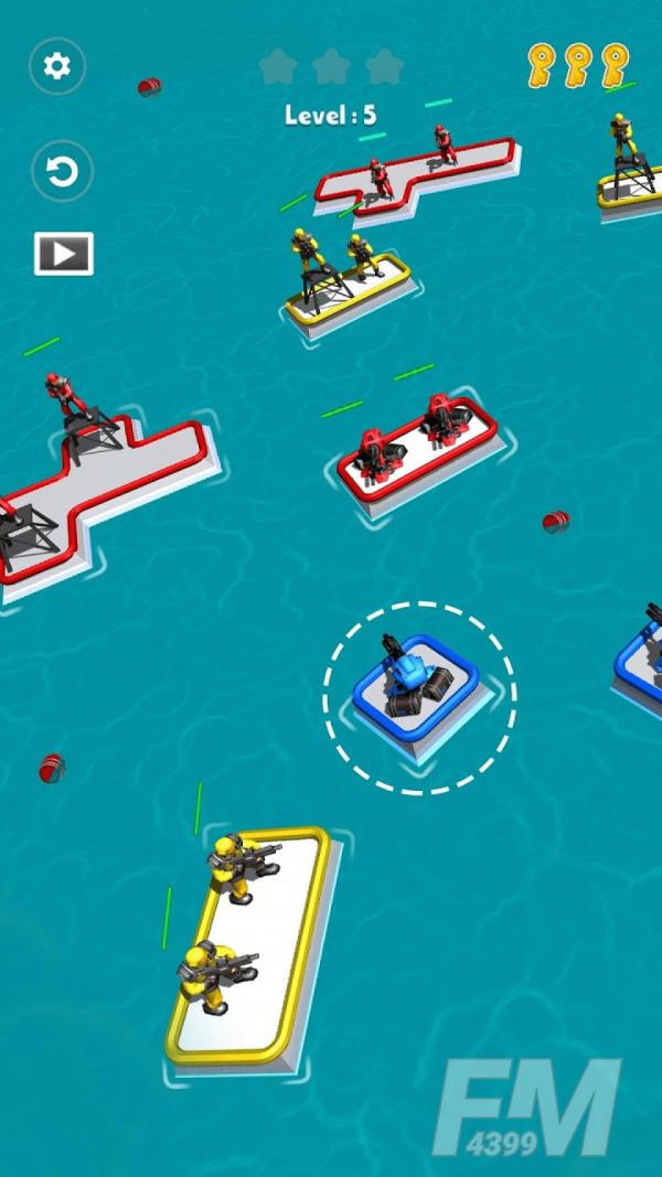 海上射击战争