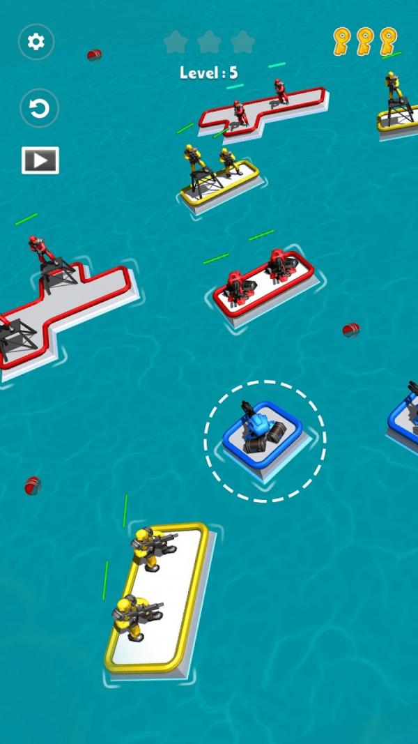 海上射击战争截图