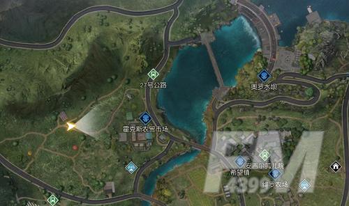 《黎明觉醒》中部平原工程师呓语宝藏位置在哪?