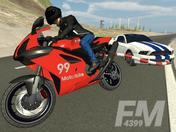 摩托车顶级特技