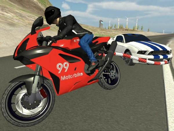 摩托车顶级特技截图