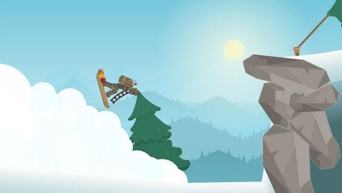 火柴人滑雪冒险截图
