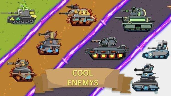 笔记本坦克截图