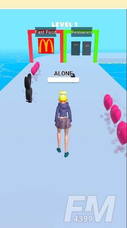 恋人跑酷3D
