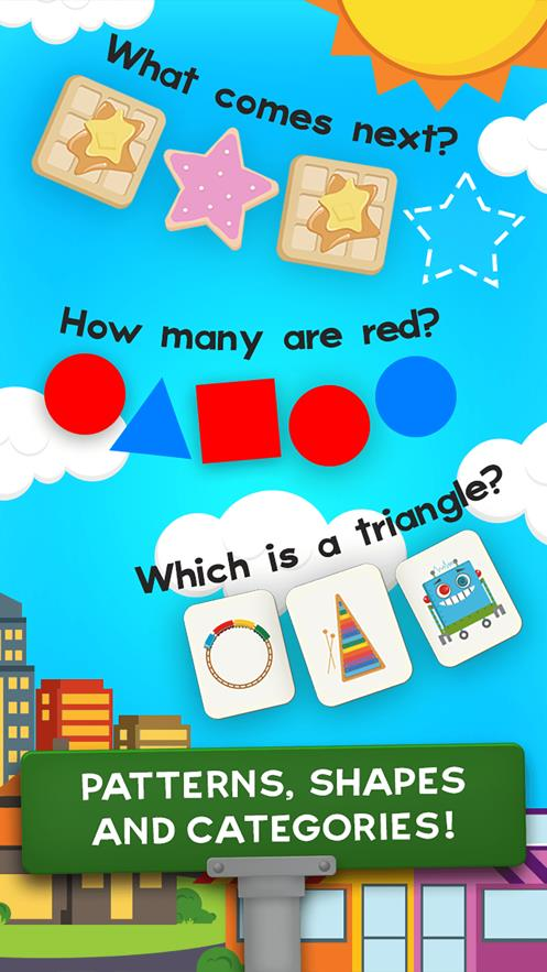 动物数学幼儿园运动会截图