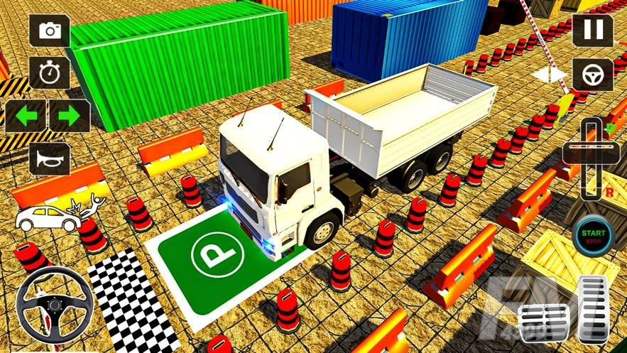 2021年货车停车场