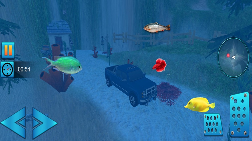 水下吉普车驾驶辛3D