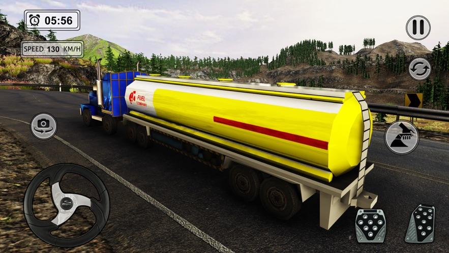 越野卡车模拟3d