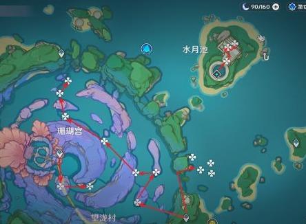 原神珊瑚珍珠在哪 原神珊瑚珍珠全地图位置分享