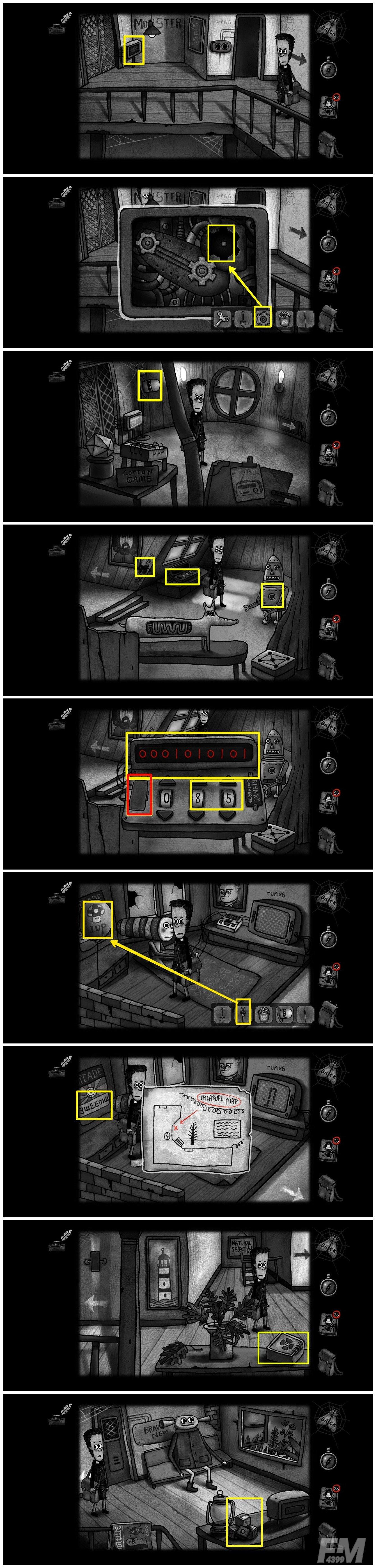 《怪物之家》全通关流程分享