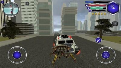 飞行机器人战斗模拟器