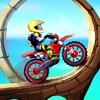 摩托自行车特技比赛